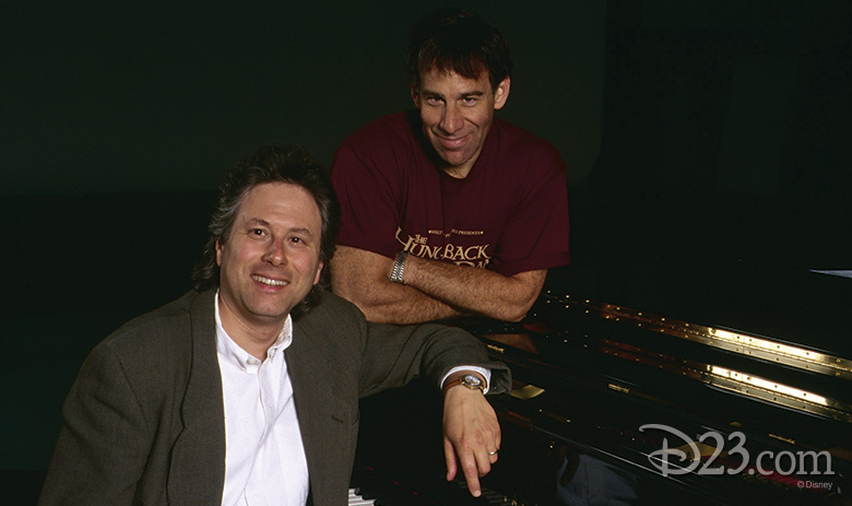 Alan Menken and Stephen Schwartz