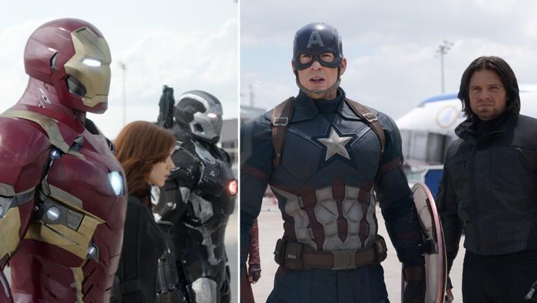 Team Iron Man and Team Cap