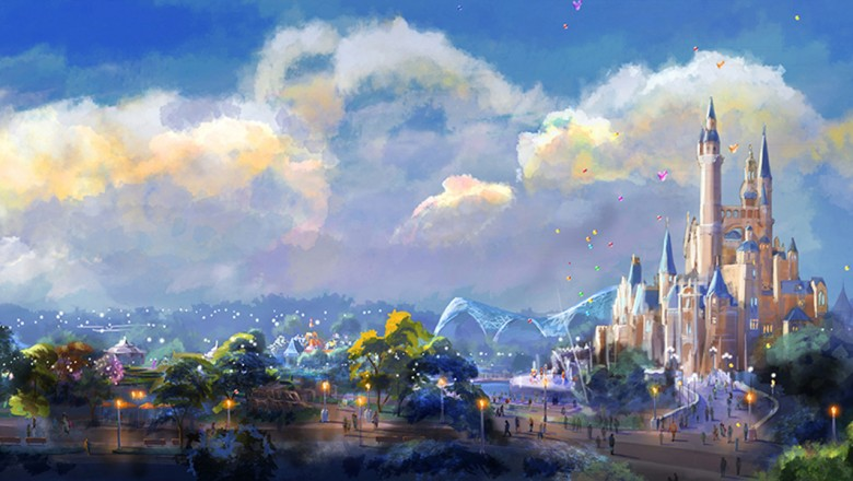 Shanghai Disney Resort Gardens of Imagination