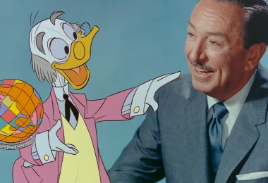 Ludwig Von Drake and Walt Disney