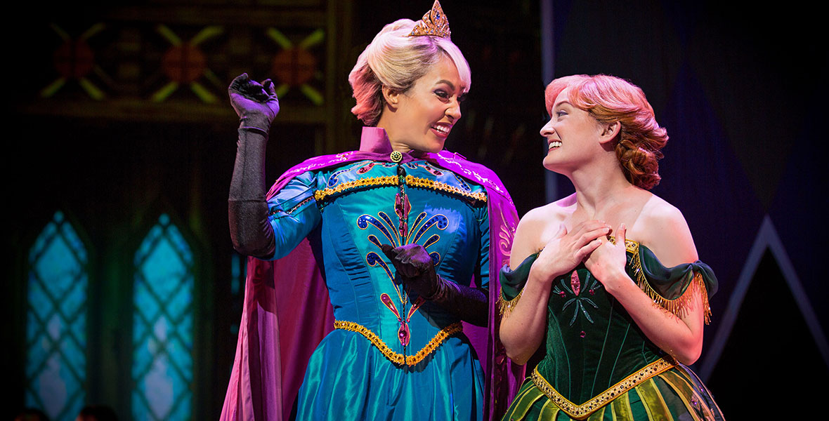 Elsa and Anna from Frozen—Live at the Hyperion