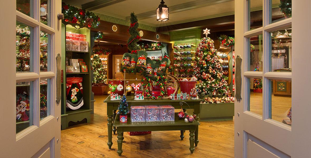 Ye Olde Christmas Shoppe D23