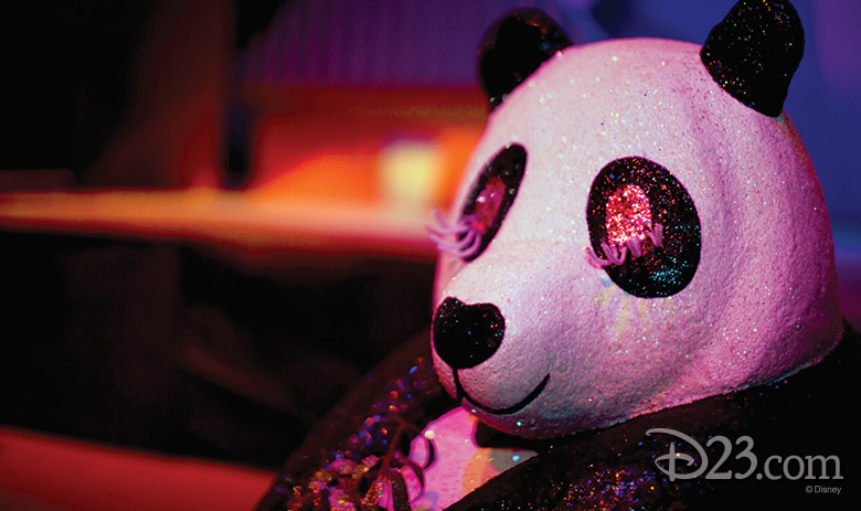 panda from it's a small world at Disneyland