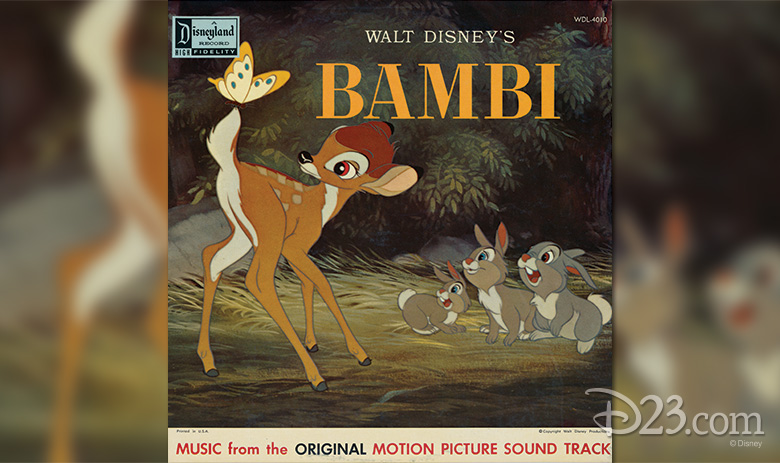 Bambi soundtrack album cover
