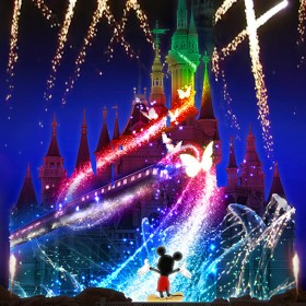 Shanghai Disneyland Nighttime Spectacular