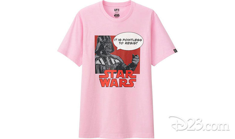 UNIQLO Darth Vader shirt