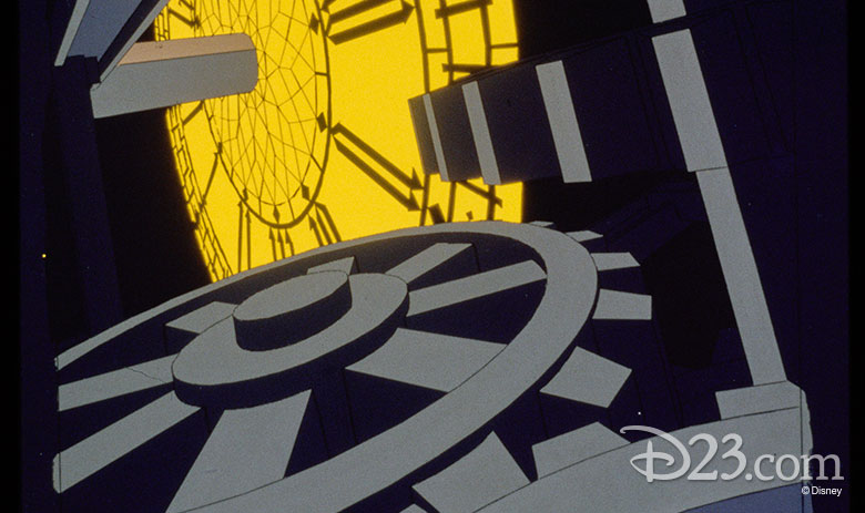 Clock gears from The Great Mouse Detective