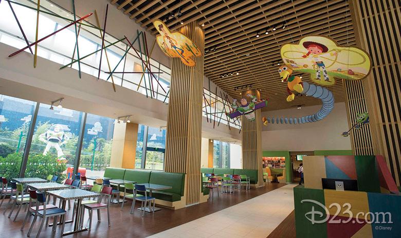 Sunnyside Cafe at Toy Story Hotel