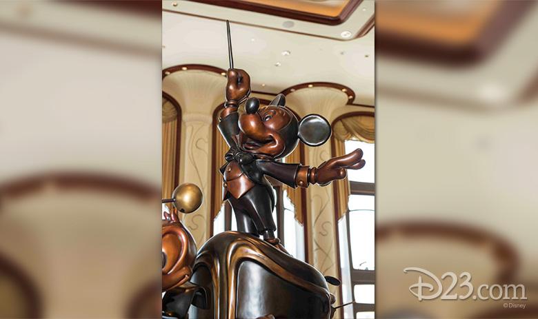 Mickey Statue at Shanghai Disneyland Hotel