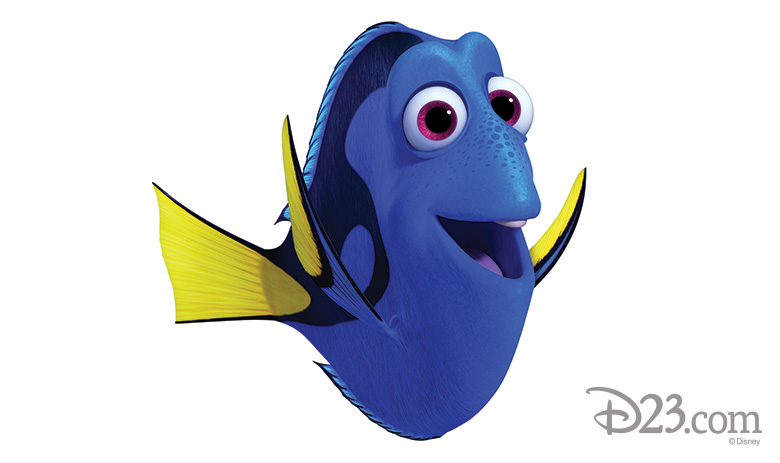 An Unforgettable Cast: The Faces and Fins of Finding Dory - D23