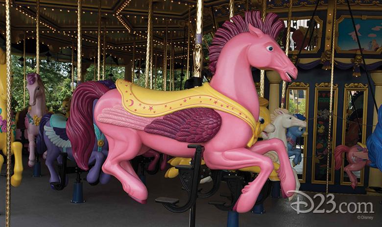 Fantasia Carousel at Shanghai Disneyland