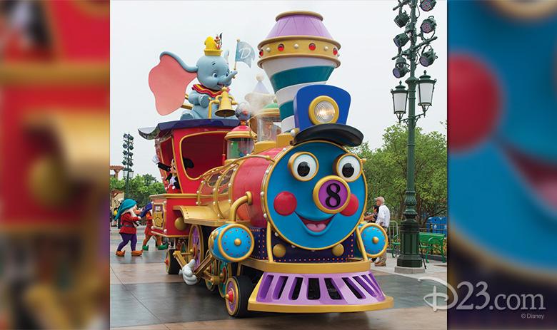 Mickey's Storybook Express at Shanghai Disneyland