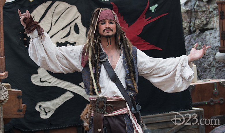 Eye of the Storm: Captain Jack's Stunt Spectacular