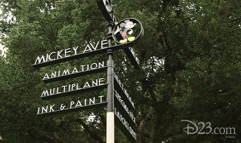 Mickey Avenue on the Walt Disney Studios Lot