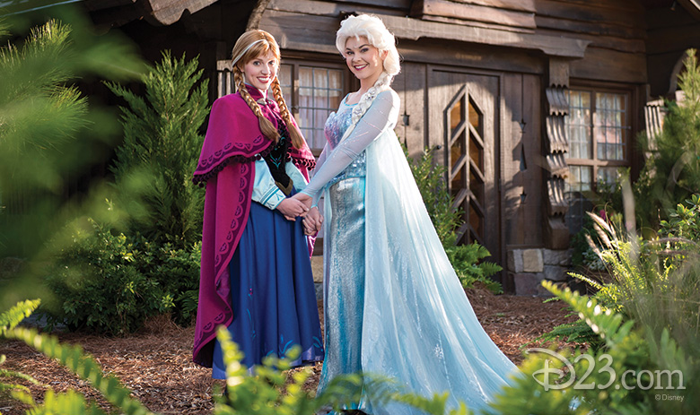 Frozen Meet and Greet at Norway pavilion