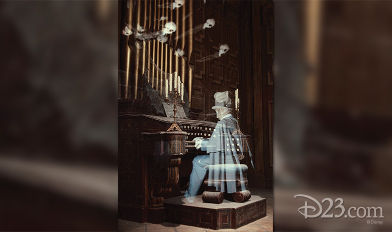 Haunted Mansion Ghost at Walt Disney World