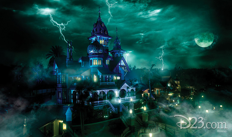 Hong Kong Disneyland Haunted Mansion