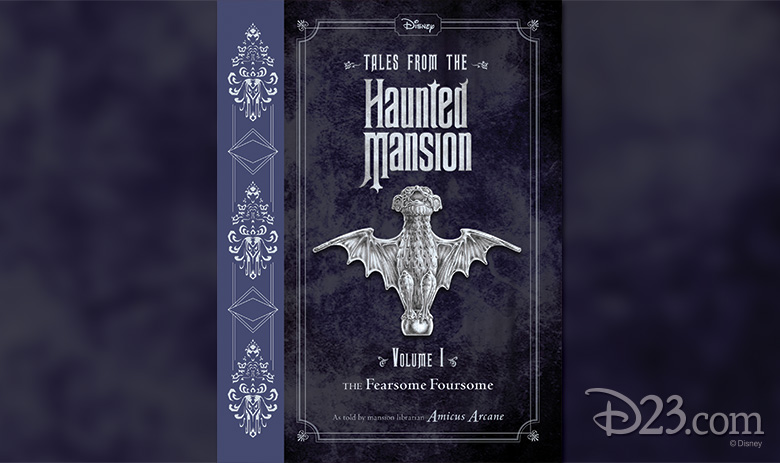 Tales From the Haunted Mansion cover art