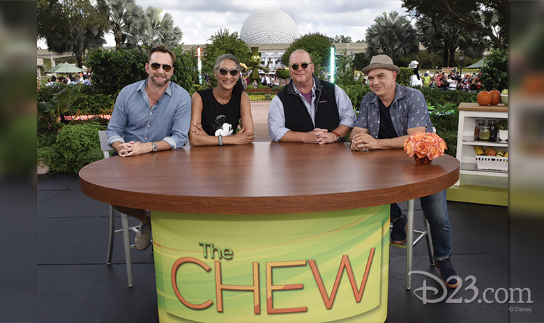 Cast of The Chew at Epcot