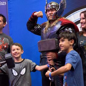 Thor and D23 Members