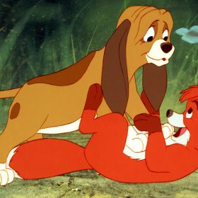 Copper and Tod from Fox and the Hound