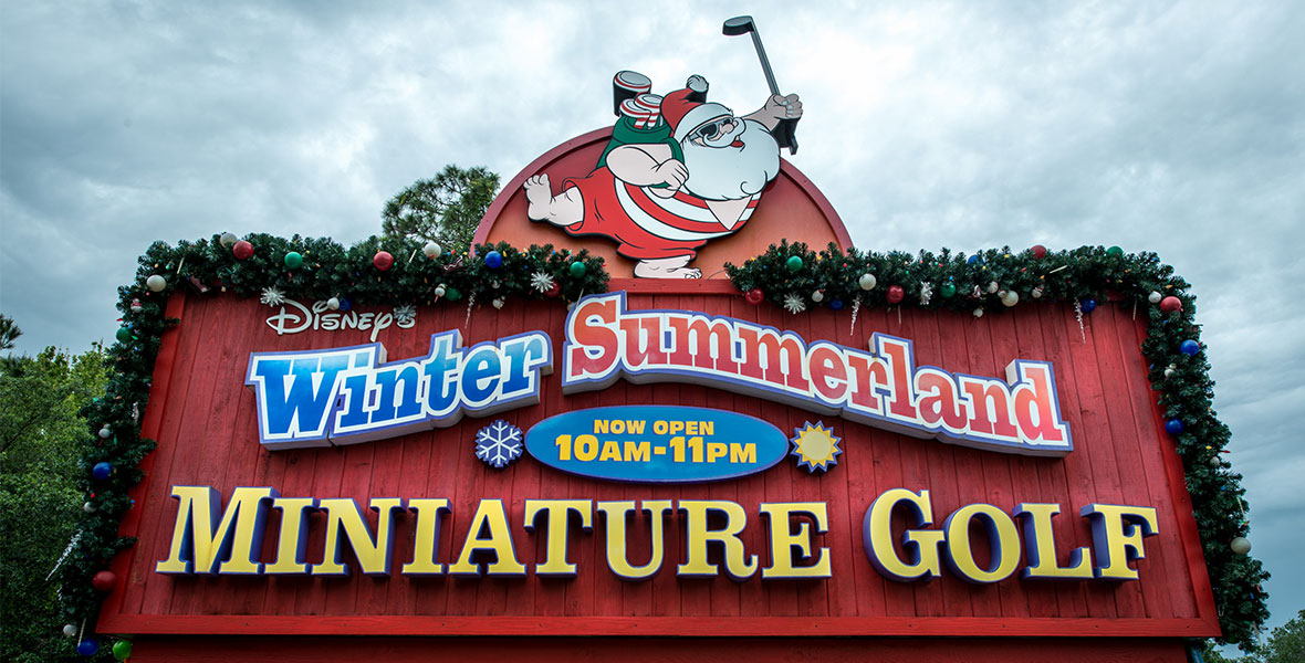 Winter Summerland Miniature Golf