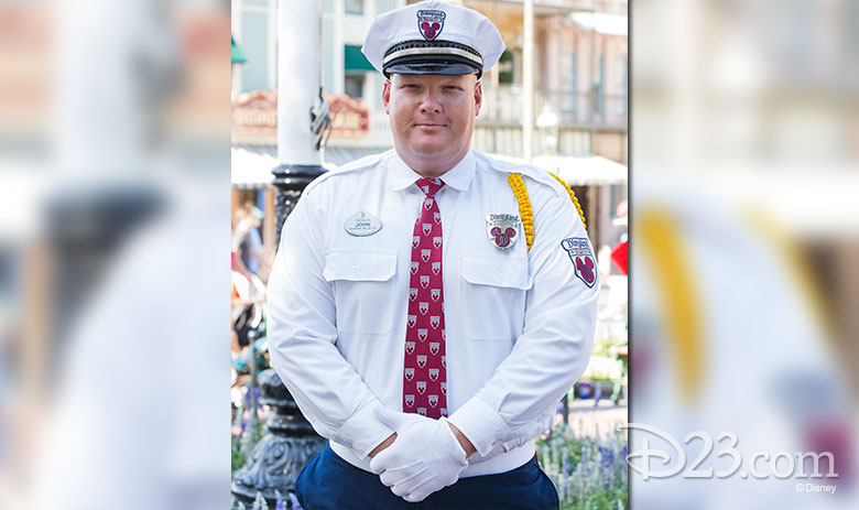 Disneyland Resort Security Officer John Nelson