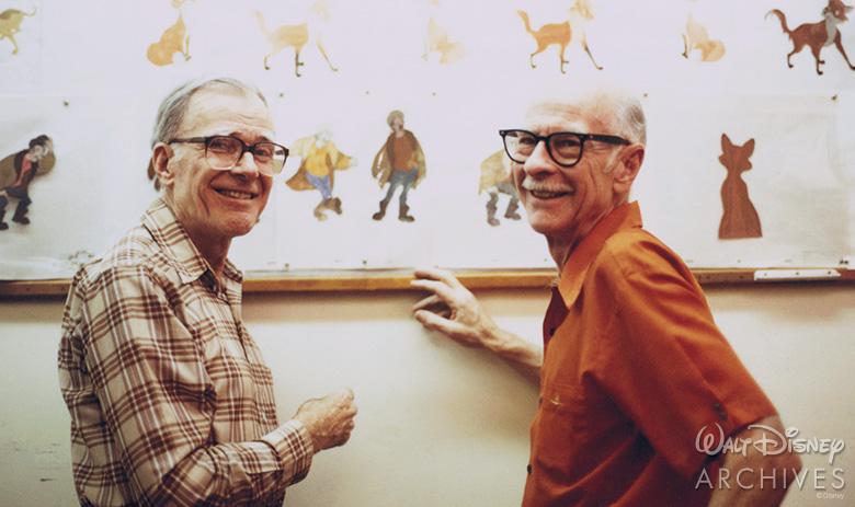 Frank Thomas and Ollie Johnston