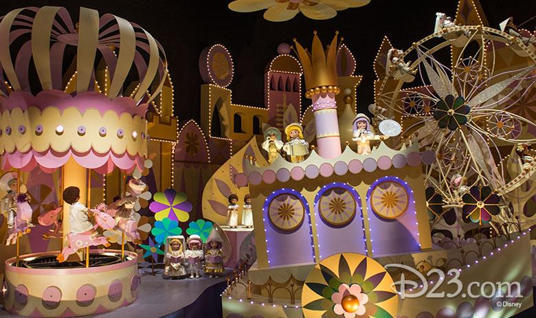 it's a small world in Hong Kong Disneyland