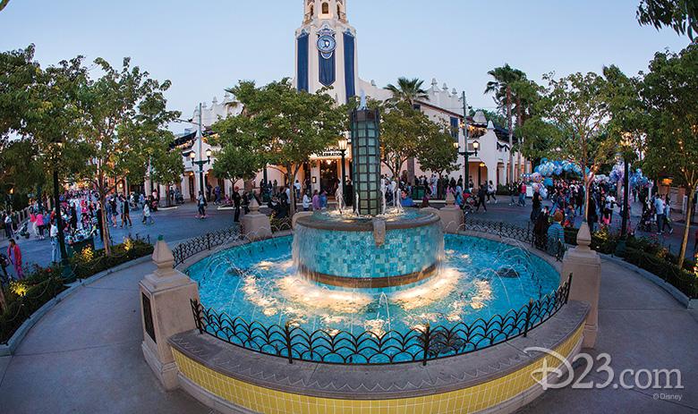 Carthay Circle Fountain
