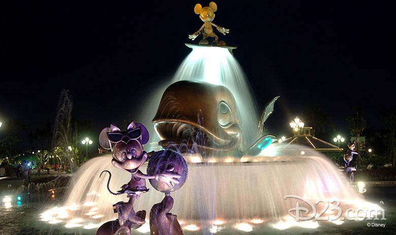 Grand Plaza Fountain