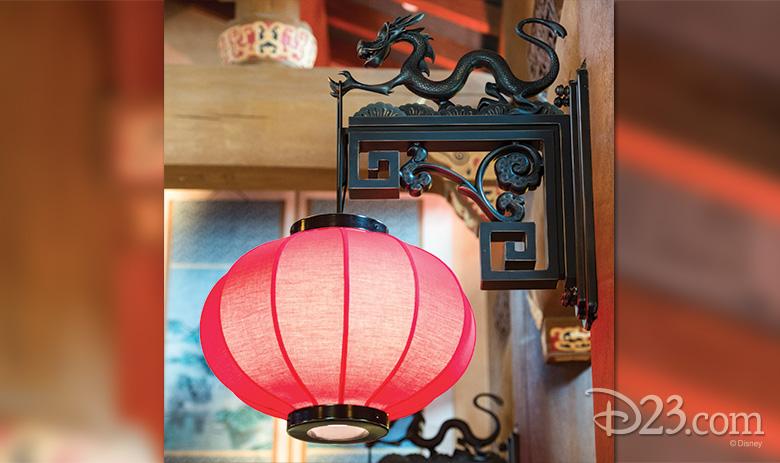 Mushu lamp hook