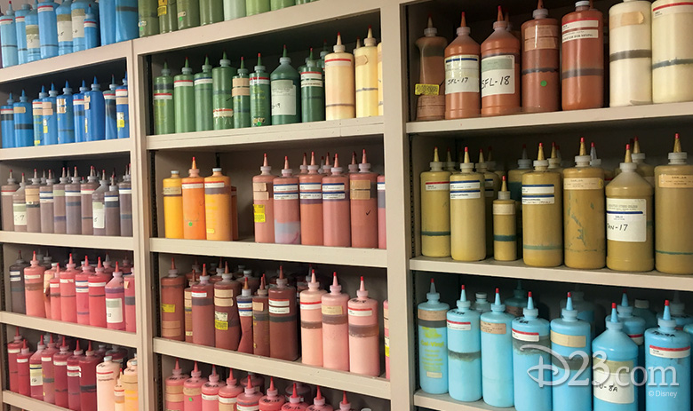 Colors of Ink and Paint