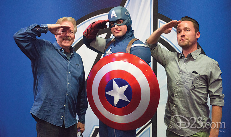 Tony Baxter and Thor