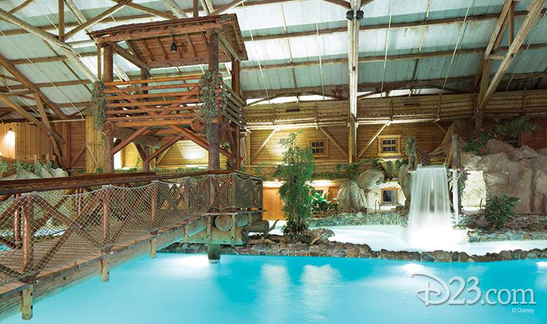 Disney's Davy Crockett Ranch Pool at Disneyland Paris