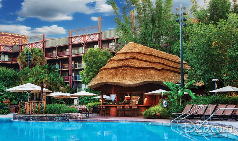 Uzima Pool at Disney's Animal Kingdom Lodge