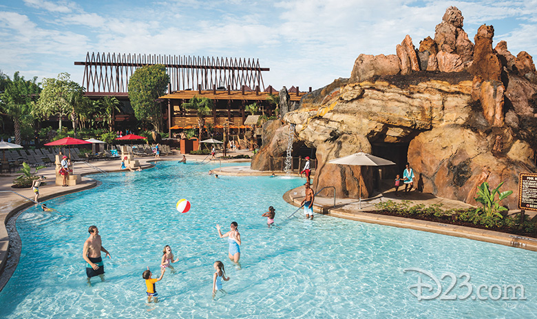 Lava Pool at Disney's Polynesian Village Resort