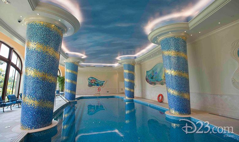King Triton Pool at Shanghai Disneyland Hotel