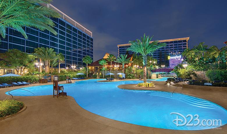 E-Ticket Pool at Disneyland Hotel