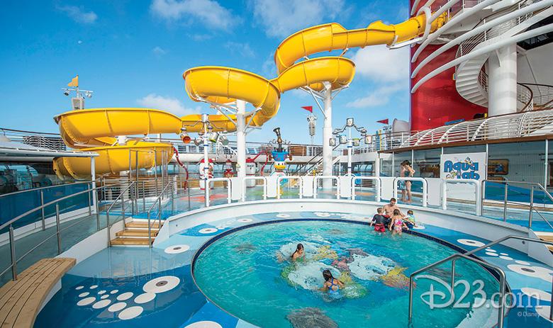 AquaLab Pool on the Disney Magic (Disney Cruise Line)