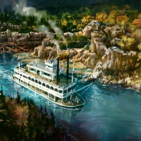 Rivers of America concept art