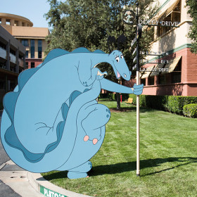 The Reluctant Dragon 75th Anniversary On the Lot