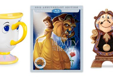 Beauty and the Beast items at Disney Store