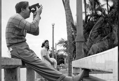 Walt Disney taking a picture