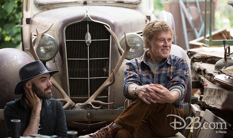David Lowery and Robert Redford