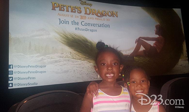 D23 Members enjoy a screening of Pete's Dragon