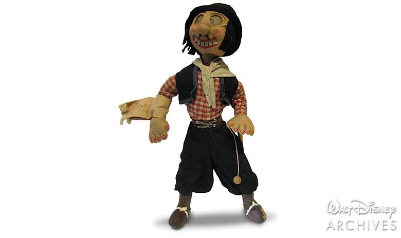 Walt Disney Goucho doll