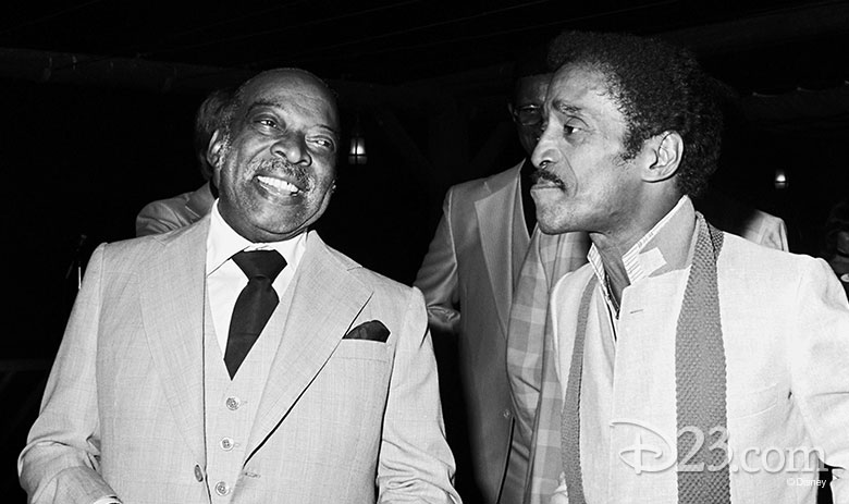 Count Basie and Sammy Davis Jr.