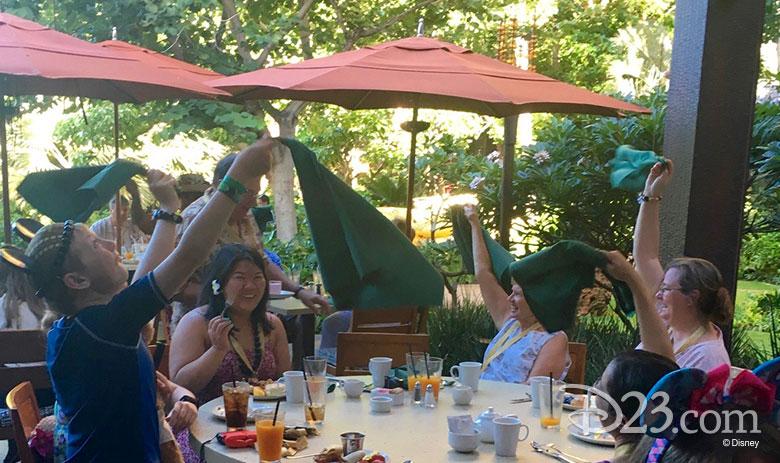 D23 Members at breakfast