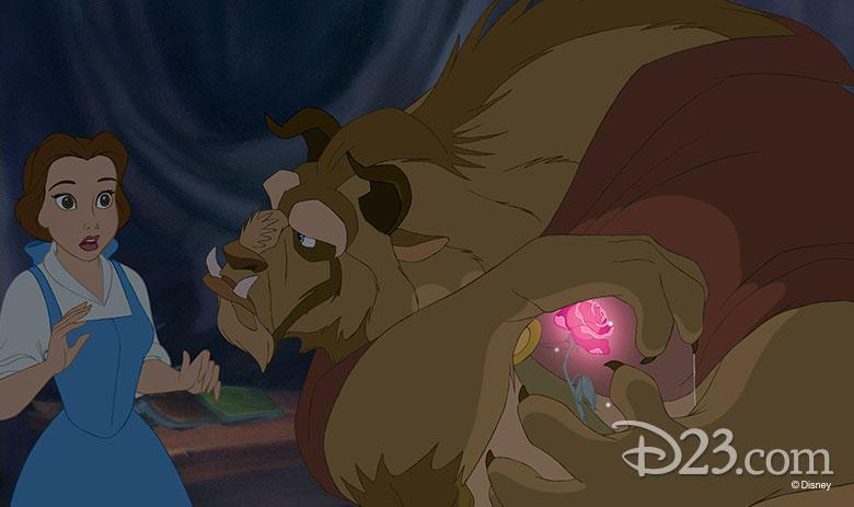 Beast upset at Belle